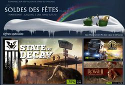 Steam - soldes hiver 2014 2015