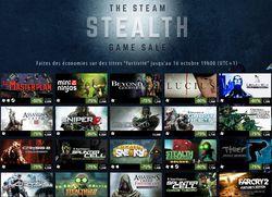 Steam - soldes jeux infiltration