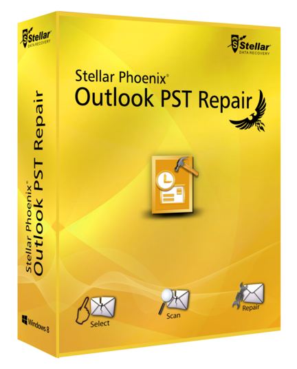 Stellar Phoenix Outlook PST Repair-Box