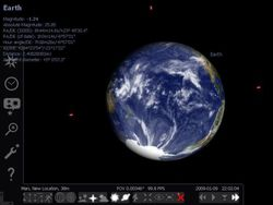 stellarium Portable screen 1