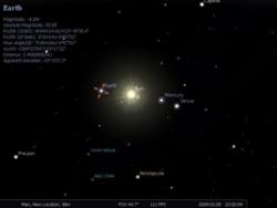 stellarium Portable screen 2