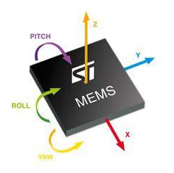 STMicro MEMS logo pro