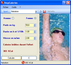 StopCalories screen 1