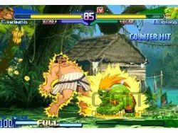 Street Fighter Alpha Anthology - Honda Vs Blanka