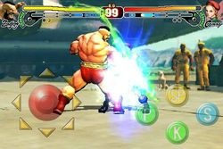 Street Fighter IV iPhone - Zangief - 2