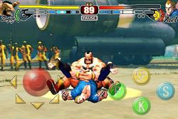 Street Fighter IV iPhone - Zangief - 3