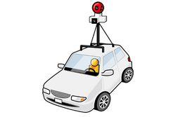 Street-View-Google-car
