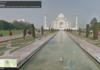 Street View : Google offre le Taj Mahal