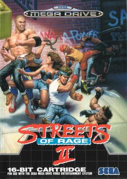 Streets of Rage II   Pochette