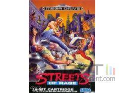 Streets of Rage - Pochette