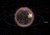 Stuff in Space : globe 3D des objets en orbite autour de la Terre