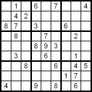 Sudoku grille