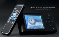 Super DLP Pico Pocket Projector - 1