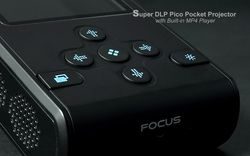Super DLP Pico Pocket Projector - 3