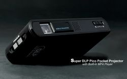 Super DLP Pico Pocket Projector - 4