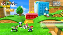 Super Mario 3D World - 1