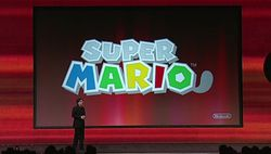 Super Mario 3DS - logo
