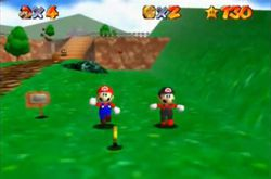 Super Mario 64 - mod multijoueur