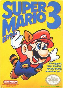 Super Mario Bros. 3   Pochette