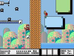 Super Mario Bros 3 Version Editable screen 1