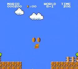 Super Mario Bros NES speedrun