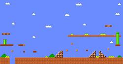 Super Mario Bros - niveau
