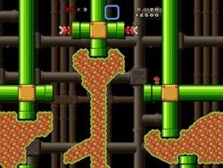 Super Mario Bros X  screen 3