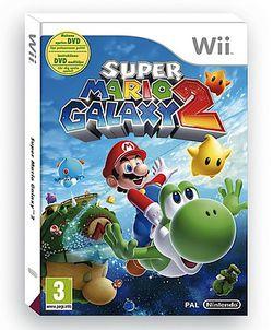 Super Mario Galaxy 2 - Jaquette DVD Bonus