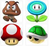 Super Mario Icons screen 1