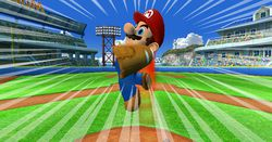 Super mario stadium baseball image 4