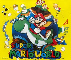 Super Mario World - artwork