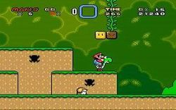 Super Mario World Deluxe screen 2