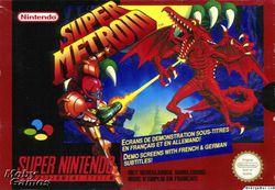 Super Metroid   Packaging