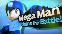 Super Smash Bros Wii U / 3DS - Megaman