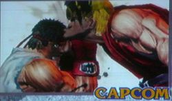 Super Street Fighter 3D Edition - 1
