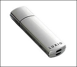 SuperTalent cle luxio 128go silver