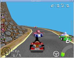 SuperTuxKart screen 2