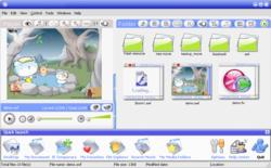 SWF Media Browser screen 1
