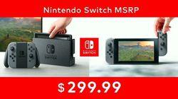 Switch prix