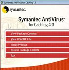 Symantec AntiVirus for Caching