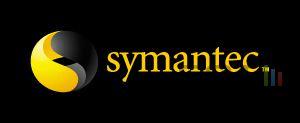 Symantec logo noir