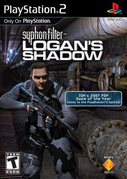 Syphon Filter : Logan Shadow - pochette