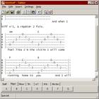 Tabber : Editer ses tablatures facilement
