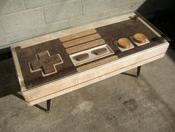 Table bois Nintendo NES - 1