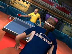 Table tennis wii image 4