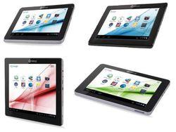 Tablettes Memup SlidePad visuel