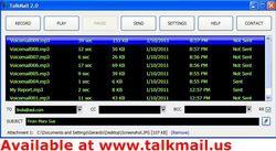 Talkmail screen1.