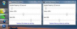 Taskbar Meters screen2