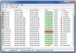 TCPEye screen