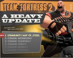 Team Fortress 2   Heavy update 1